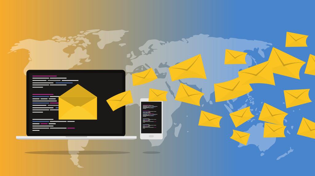 correos comerciales a través de correo electrónico