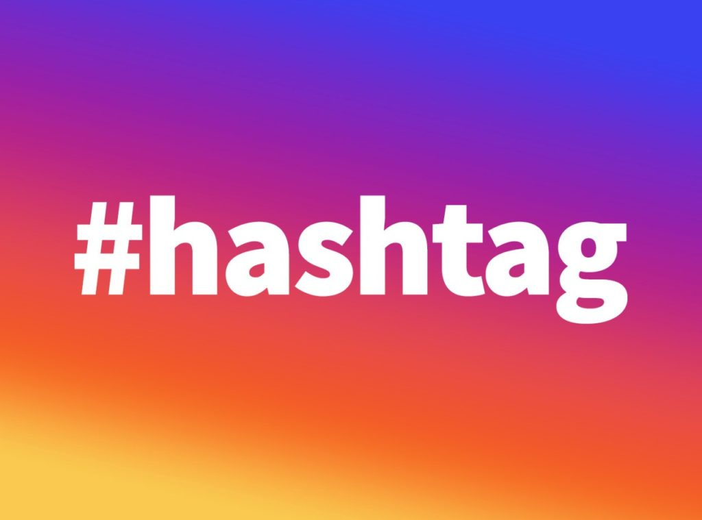 utilizar hashtag tienda online