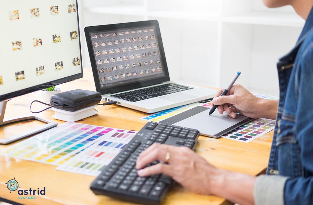diseño gráfico y web