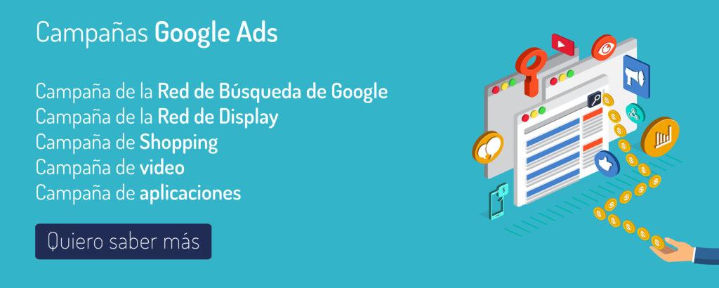 Google Ads campañas