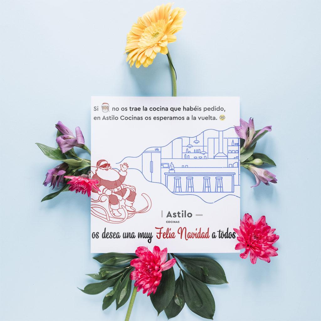 diseño tarjeta Astilo