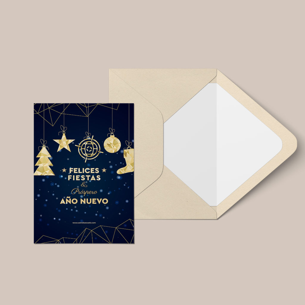 diseño tarjeta navidad