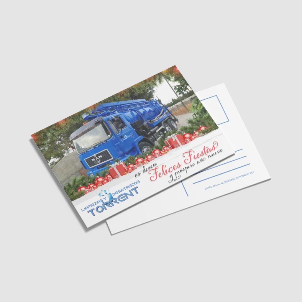 diseño tarjetas Zaragoza