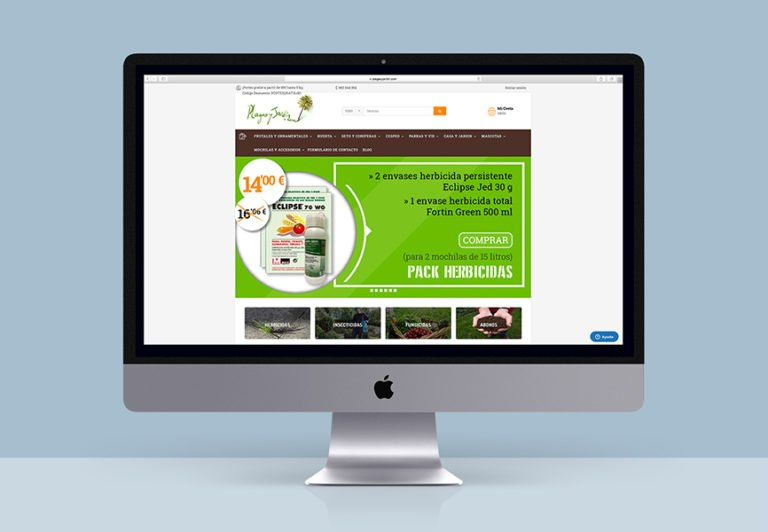 diseño tienda online Zaragoza