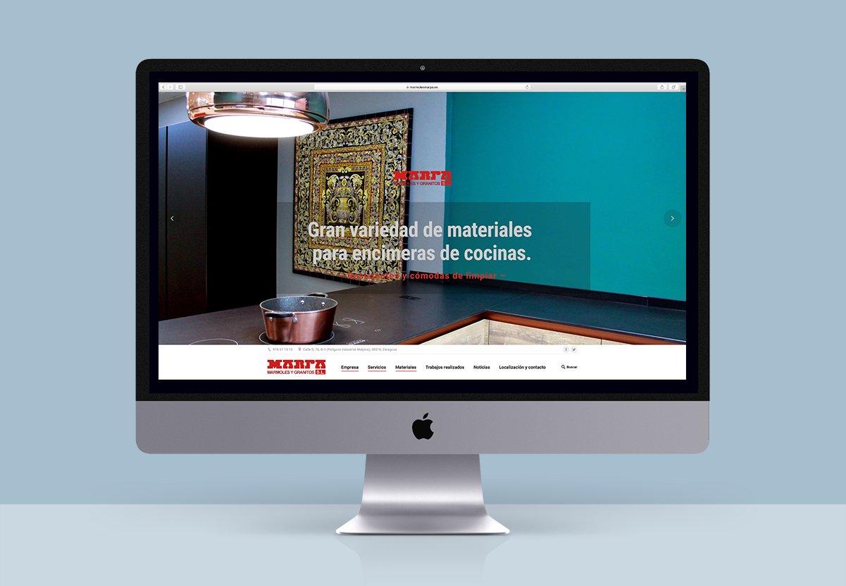web diseño Zaragoza marpa