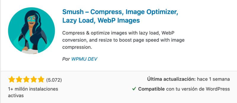 plugin Smush