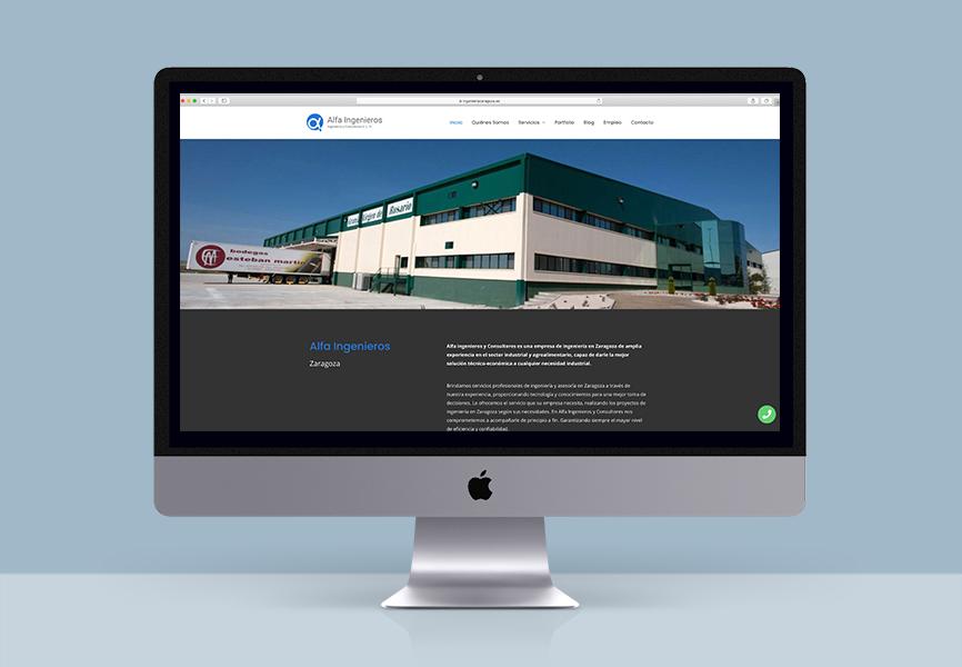 web alfa Zaragoza