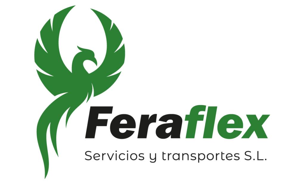 logotipo feraflex transportes donostia