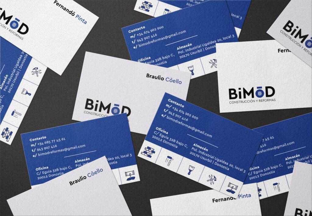 tarjetas bimod reformas y construccion donostia