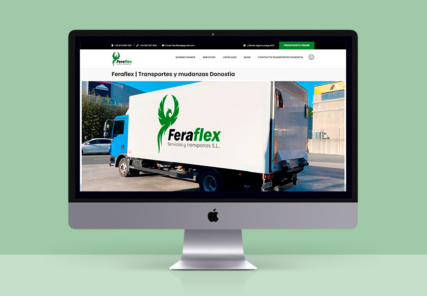 web feraflex transportes